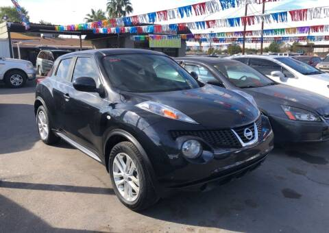 2013 Nissan JUKE for sale at Valley Auto Center in Phoenix AZ