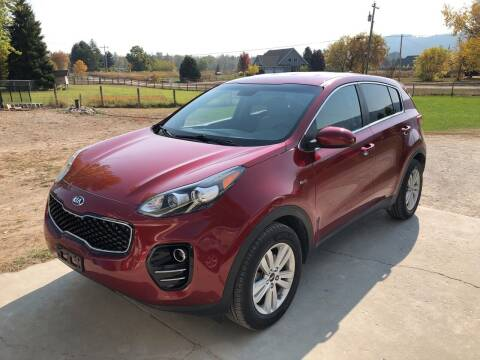 2017 Kia Sportage for sale at Best Buy Auto Sales in Missoula MT