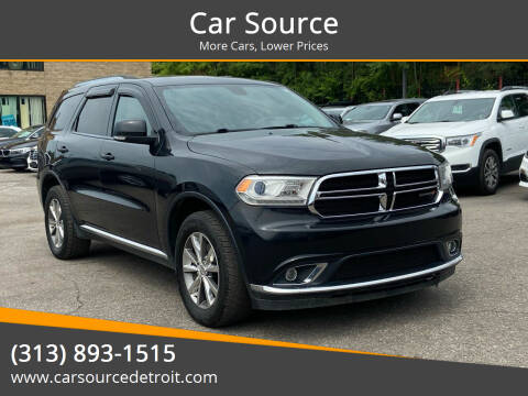 2014 Dodge Durango for sale at Car Source in Detroit MI