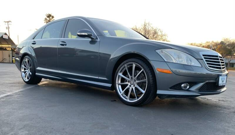 2009 Mercedes-Benz S-Class for sale at Integrity Motorz, LLC in Tracy CA