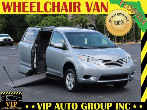2015 Toyota Sienna for sale at VIP Auto Group in Clearwater FL