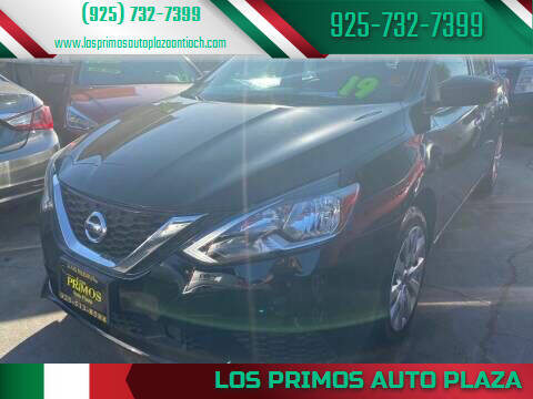 2019 Nissan Sentra for sale at Los Primos Auto Plaza in Antioch CA
