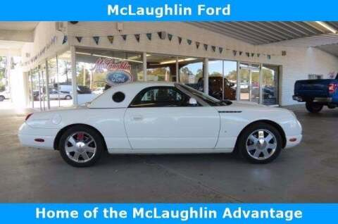 2003 Ford Thunderbird for sale at McLaughlin Ford in Sumter SC