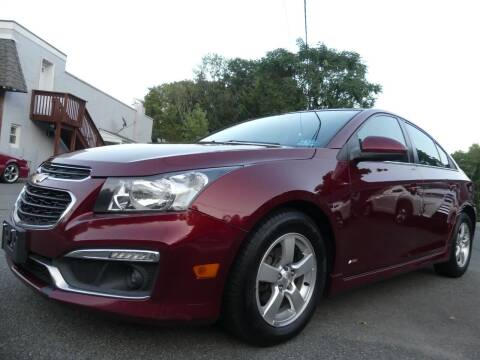2015 Chevrolet Cruze for sale at P&D Sales in Rockaway NJ