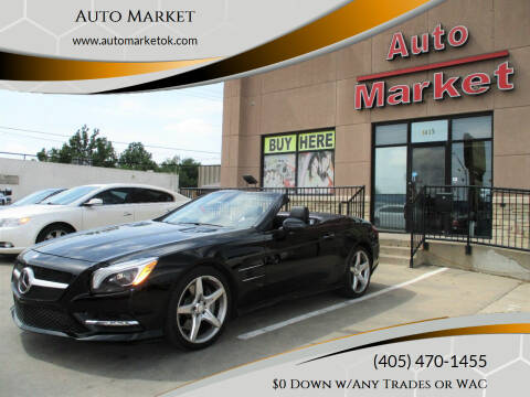 2013 Mercedes-Benz SL-Class for sale at Auto Market in Oklahoma City OK