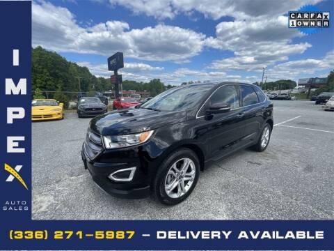 2018 Ford Edge for sale at Impex Auto Sales in Greensboro NC