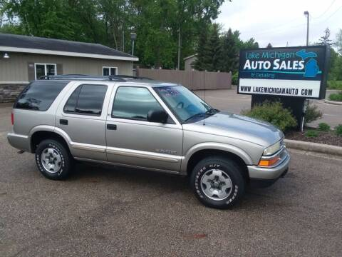 2002 Chevrolet Blazer for sale at Lake Michigan Auto Sales & Detailing in Allendale MI