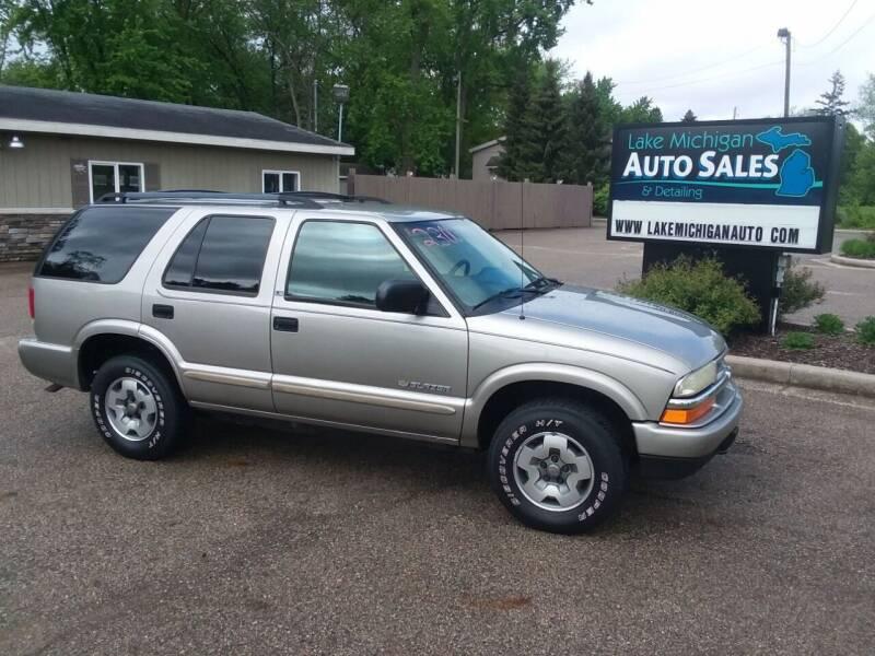2002 Chevrolet Blazer for sale at Lake Michigan Auto Sales & Detailing in Allendale MI