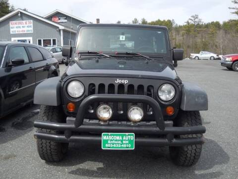 2008 Jeep Wrangler Unlimited for sale at Mascoma Auto INC in Canaan NH