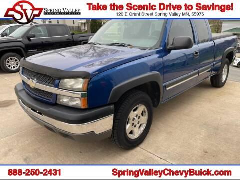 2004 Chevrolet Silverado 1500 for sale at Spring Valley Chevrolet Buick in Spring Valley MN