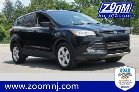 2014 Ford Escape for sale at Zoom Auto Group in Parsippany NJ