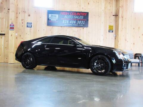 2012 Cadillac CTS-V for sale at Boone NC Jeeps-High Country Auto Sales in Boone NC