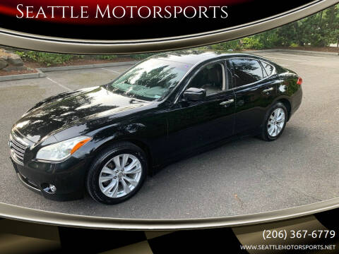 2011 Infiniti M37 for sale at Seattle Motorsports in Shoreline WA