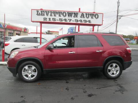 2011 GMC Acadia for sale at Levittown Auto in Levittown PA