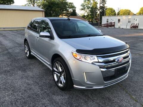 2014 Ford Edge for sale at Jackie's Car Shop in Emigsville PA