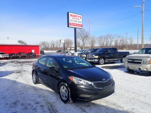2015 Kia Forte for sale at Marty's Auto Sales in Savage MN