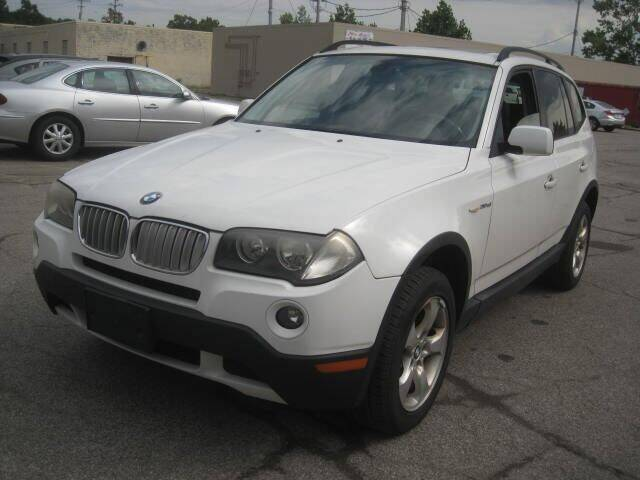 2008 BMW X3 for sale at ELITE AUTOMOTIVE in Euclid OH