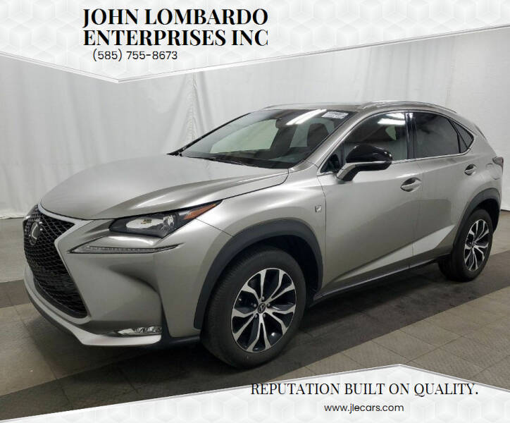 2017 Lexus NX 200t for sale at John Lombardo Enterprises Inc in Rochester NY