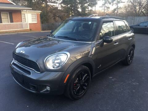 2012 MINI Cooper Countryman for sale at Deme Motors in Raleigh NC