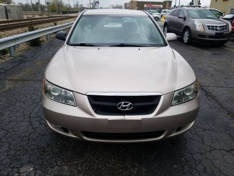 2007 Hyundai Sonata for sale at Discovery Auto Sales in New Lenox IL