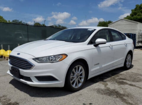 2017 Ford Fusion Hybrid for sale at Elite Motor Brokers in Austell GA
