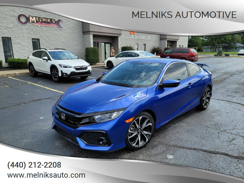 2017 Honda Civic for sale at Melniks Automotive in Berea OH
