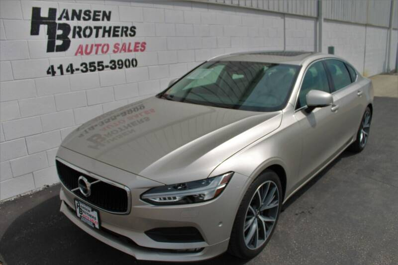 2018 Volvo S90 for sale at HANSEN BROTHERS AUTO SALES in Milwaukee WI