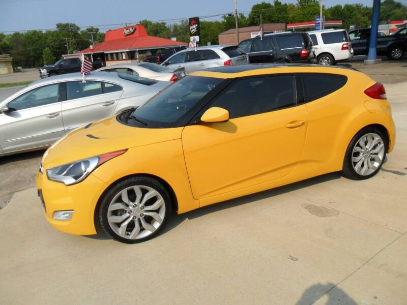 2013 Hyundai Veloster for sale at C MOORE CARS in Grove OK