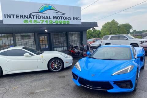 2020 Chevrolet Corvette for sale at International Motors Inc. in Nashville TN