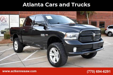 2016 RAM Ram Pickup 1500 for sale at Atlanta Cars and Trucks in Kennesaw GA