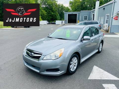 2010 Subaru Legacy for sale at J & J MOTORS in New Milford CT