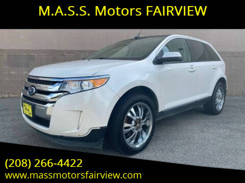 2013 Ford Edge for sale at M.A.S.S. Motors - Fairview in Boise ID