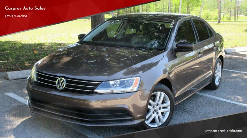 2015 Volkswagen Jetta for sale at Carpros Auto Sales in Largo FL