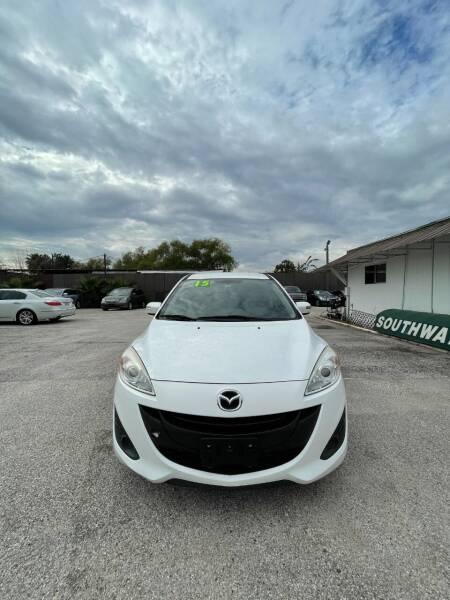 2015 Mazda MAZDA5 for sale at SOUTHWAY MOTORS in Houston TX