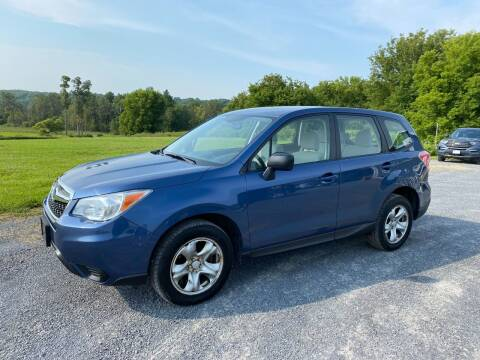 2014 Subaru Forester for sale at Riverside Motors in Glenfield NY