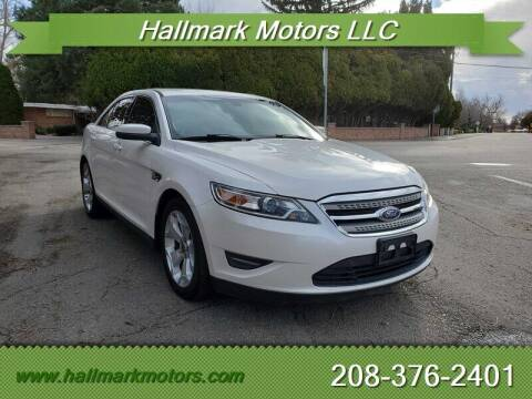 2011 Ford Taurus for sale at HALLMARK MOTORS LLC in Boise ID