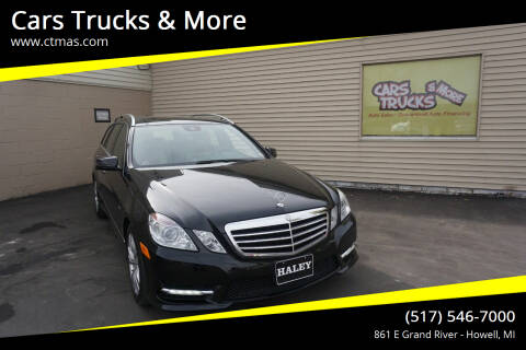 2012 Mercedes-Benz E-Class for sale at Cars Trucks & More in Howell MI