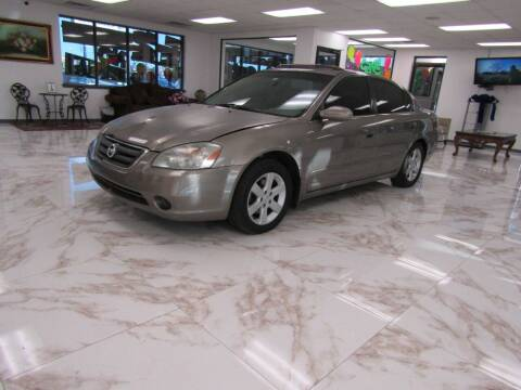 2003 Nissan Altima for sale at Dealer One Auto Credit in Oklahoma City OK