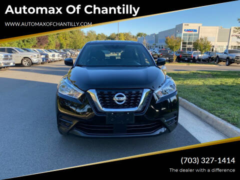 2020 Nissan Kicks for sale at Automax of Chantilly in Chantilly VA