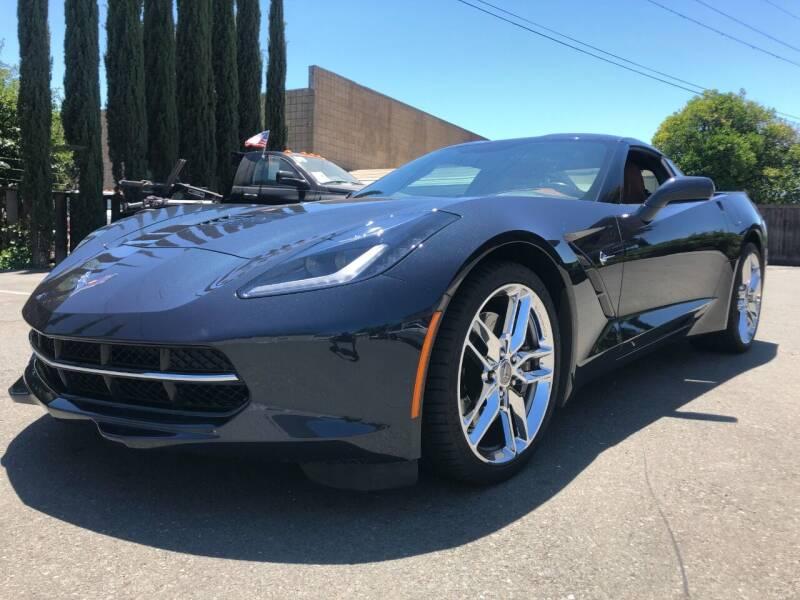 2014 Chevrolet Corvette for sale at Martinez Truck and Auto Sales in Martinez CA