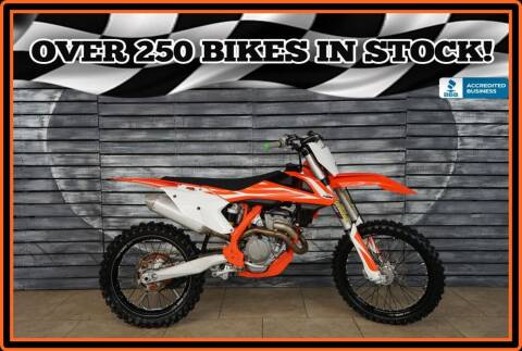 2018 KTM 350 SX-F for sale at Motomaxcycles.com in Mesa AZ