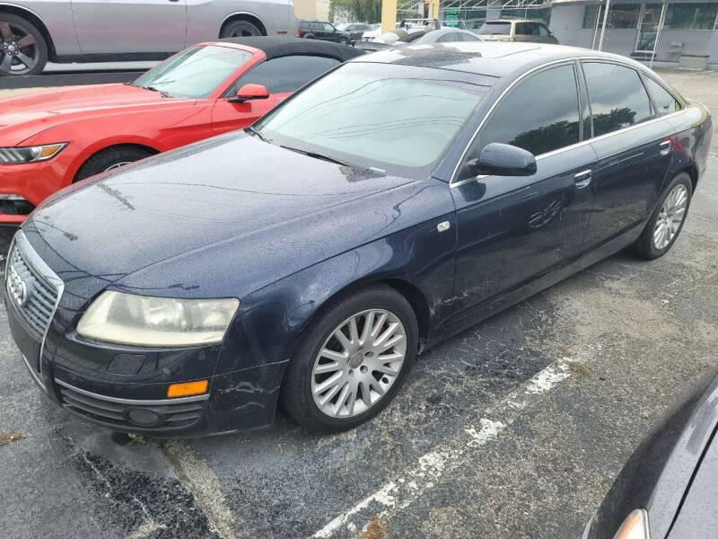 2005 Audi A6 for sale at Castle Used Cars in Jacksonville FL