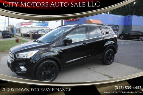 2017 Ford Escape for sale at City Motors Auto Sale LLC in Redford MI