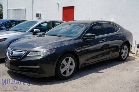 2016 Acura TLX for sale at Michael's Auto Sales Corp in Hollywood FL