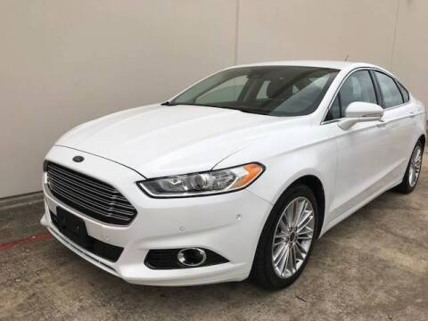 2016 Ford Fusion for sale at CARS ICON INC in Houston TX