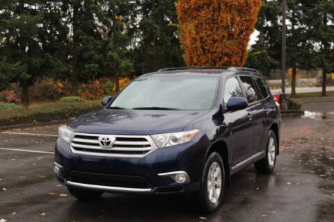 2012 Toyota Highlander for sale at Top Gear Motors in Lynnwood WA