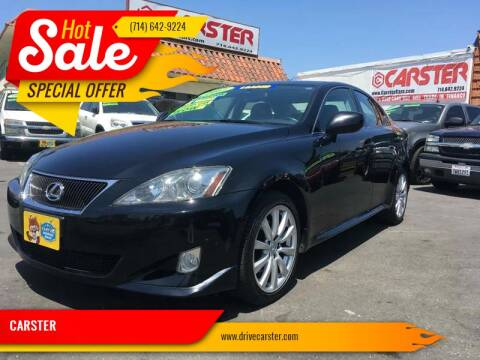 2007 Lexus IS 250 for sale at CARSTER in Huntington Beach CA