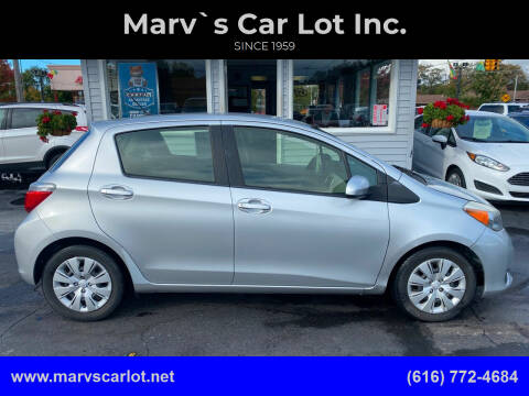 2013 Toyota Yaris for sale at Marv`s Car Lot Inc. in Zeeland MI