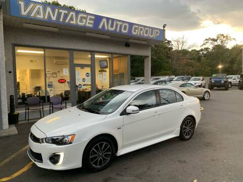 2017 Mitsubishi Lancer for sale at Vantage Auto Group in Brick NJ