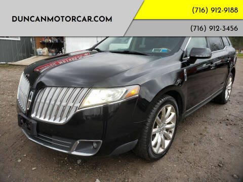 2010 Lincoln MKT for sale at DuncanMotorcar.com in Buffalo NY